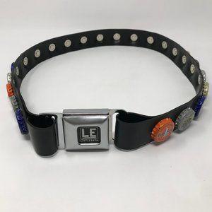 Classic Littlearth Bottle Cap Belt Rubber Belt VTG